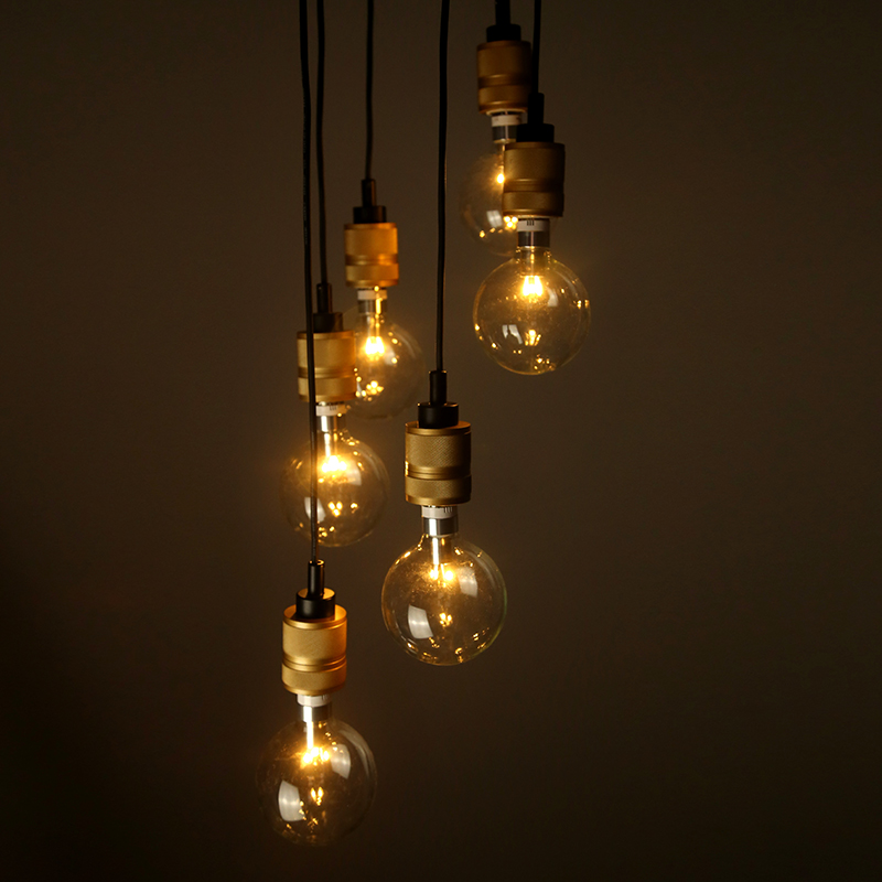 Busterand Punch Antique Edison Bulb Pendant Lamp From