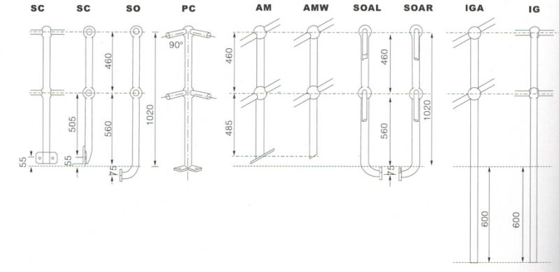 Stanchion-of-18-Types-for-Railing