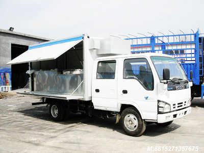 ISUZU Mobile cooking truck   Customization