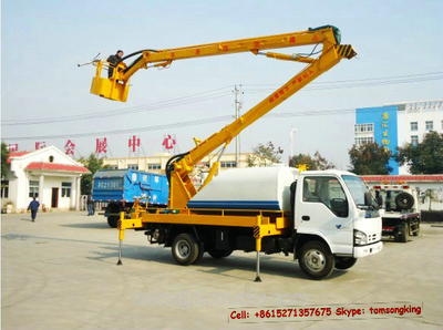 ISUZU aerial platform truck 14m~ 20M boom trucks
