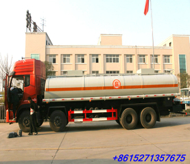 DFL Aluminium Nitric acid tanker for transport Nitric acid