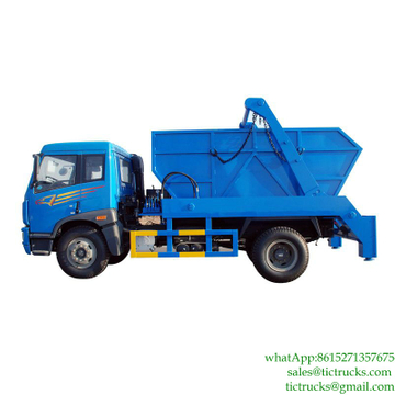 10m3 swing arm garbage truck for sale