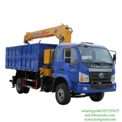 5T Tipper Mounted Crane FOTON for sale Euro2/3/4 ,5