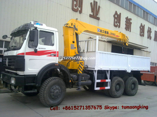 Beiben 6x4 / 6x6 lorry with Crane 10Ton ~16Ton <LHD RHD>