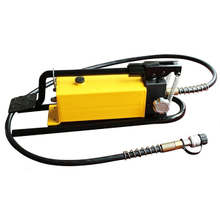 Hydraulic foot pumps with 2.8L oil capacity