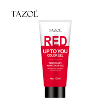 Tazol temporary hair color gel red