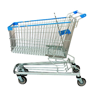 Steel Supermarket Trolley