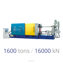 1600tons/16000kN Cold Chamber Die Casting Machine