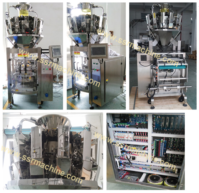 High speed combined Weight Packing machine (2 in one) detail