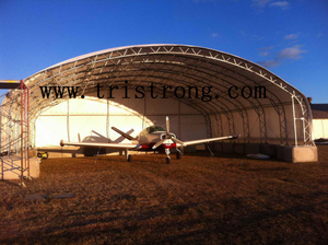 Trussed Frame Hangar, Large Shelter, Large Warehouse, Portable Aircraft Hangar (TSU-4530, TSU-4536)