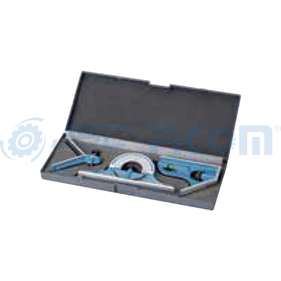 Combination square set protractor
