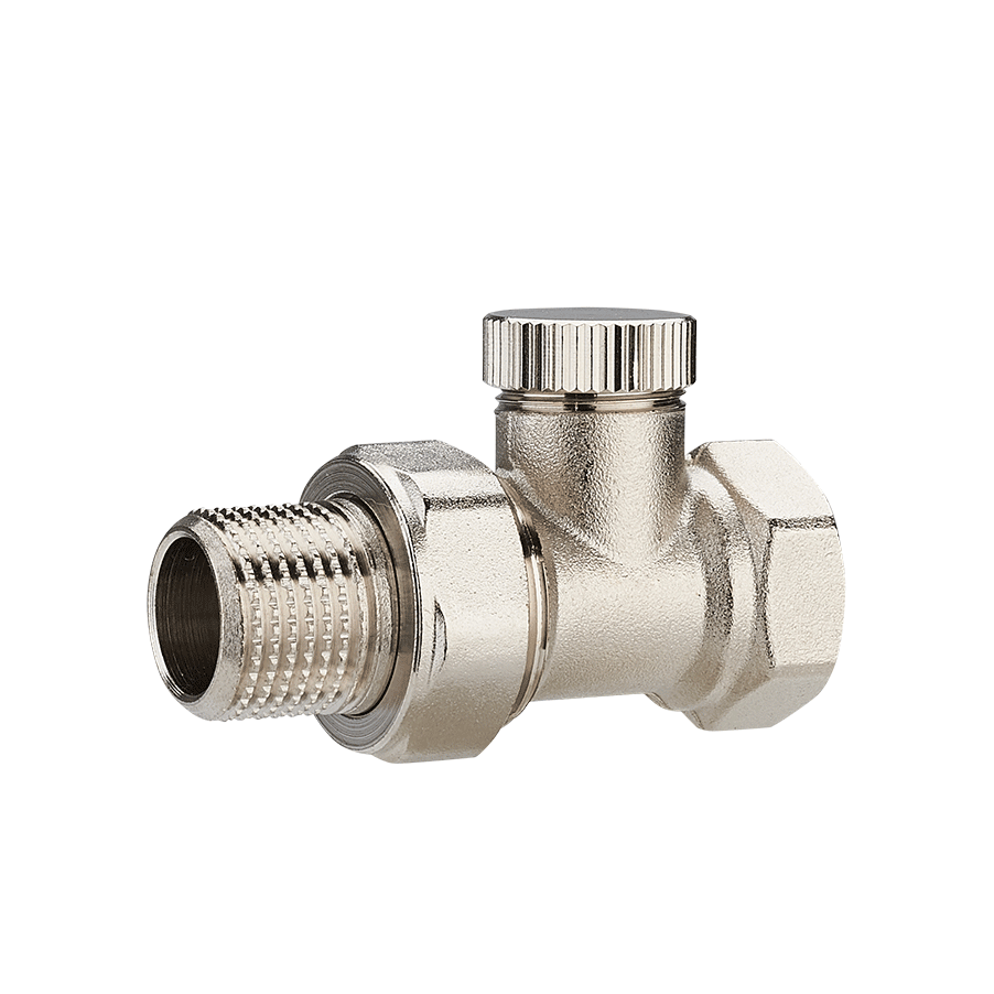 Baiyilun Hot Thermostatic Regulating Valve Thermostatic Radiator Valve for Water Heating System