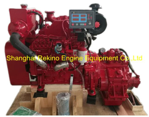 Cummins 4BTA3.9-M140 rebuilt reconstructed marine diesel engine with gearbox (110-140HP 2800RPM)
