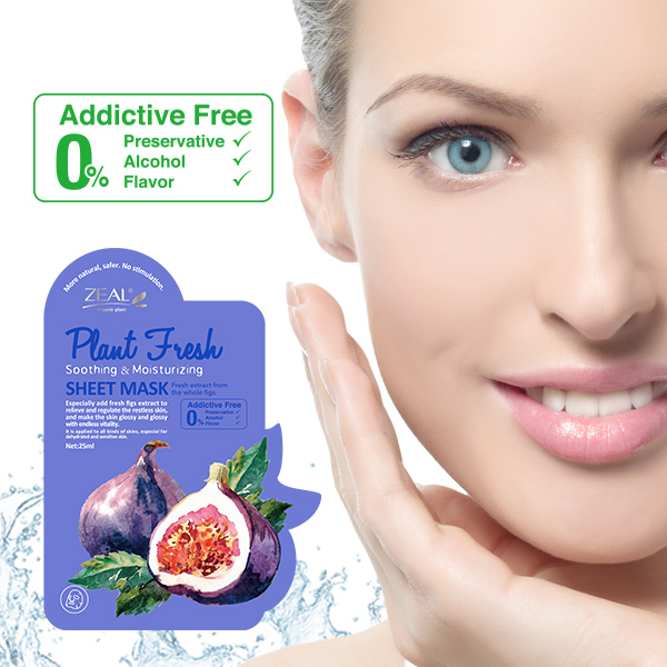 ZEAL Fresh Figs Soothing & Moisturizing Facial Mask