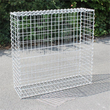4.0mm Wire, 5*10cm Mesh, 100*50*50cm Galvanized Welded Gabion