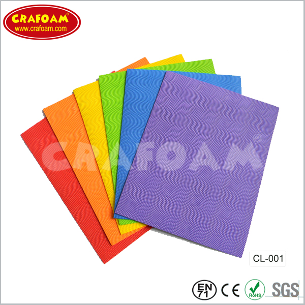 Embossed EVA Foam Sheets