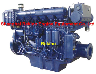 Weichai X6170ZC Medium speed marine diesel engine 408-620HP 1000-1500RPM