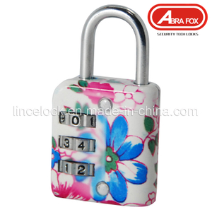 Zinc Alloy Colour Heat Plated Design Combination Padlock (802-2)