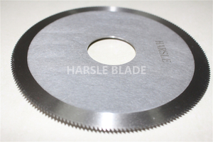 Circular saw cutting blade, round toothed sharp cutting knife, perforation food serrated blade