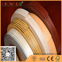 Solid Color and Wood Grain Furniture PVC Edge Banding