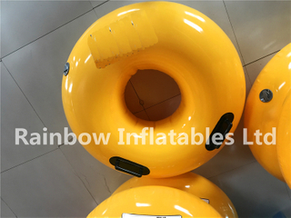 RB33018(0.8x0.8x0.25m)Inflatables Yellow swimming ring for sale