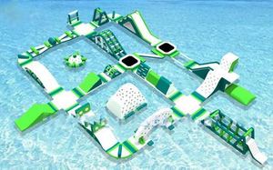 Massive Floating Playground Hot Summer Floating Water Park for Sale