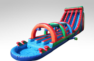 Beach Inflatable Giant Hippo Slide For Sale Inflatable Hippo Slide for Beach