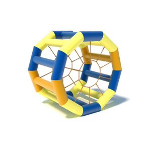 Inflatable Water Wheel Pool Sport Inflatable Water Walking Roller Water Game