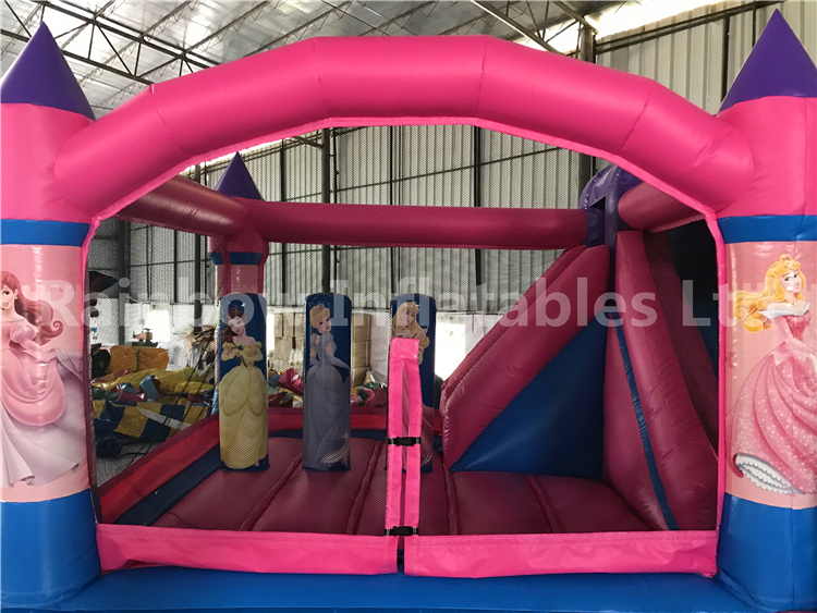 RB3014-1 (3.5x4x2.5m) Inflatable princess Combo Castle With Slide hot sale