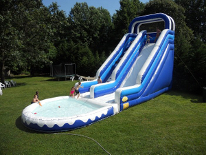 Inflatable Roaring River Water Slide