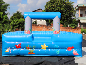 RB9131 (4x5m)Inflatable foam pit Sport Game with form machine