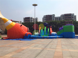 RB32019(dia21m)Inflatable Commercial Outdoor Water Games Giant Floating Water Park