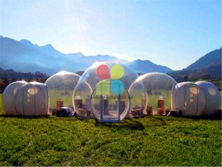 RB41060(d20x3m) Inflatable Multifunction Bubble lodge Tent Transparent Tent for sale