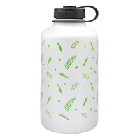 Stainless Steel Vacuum Sports Bottle With Loop 1800ML