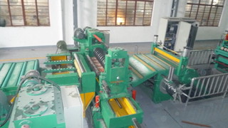 Automatic china double knife block stainless steel slitting and rewinding line