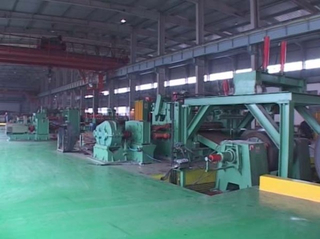 8-20mm China high speed automatic aluminium slitting production line price