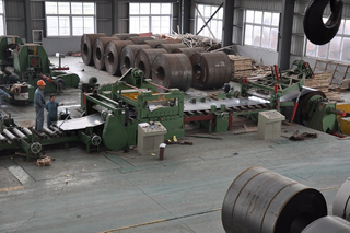 High precision coil combined cut to length machinery spare parts for sale