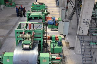 Price of heavy gauge tinplate steel sheet coil shear cutting line