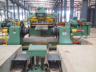 6-25mm thick metal sheet coil cut to length machine