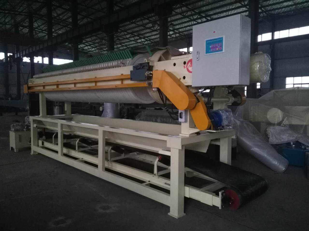 2016 year ceramic clay dewatering automatic high-pressure filter press