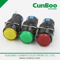AL6 push button switch with led light
