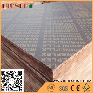 Hot sale good quality melamine glue black film faced plywood