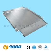 Model YDLS Stainless Steel Floor Scale with reversible ramps