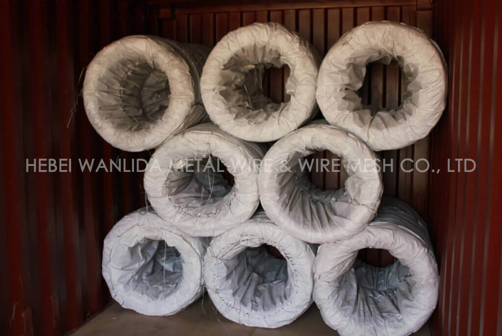 500 KG galvanized steel wire 3.5 mm ( BV Certification )