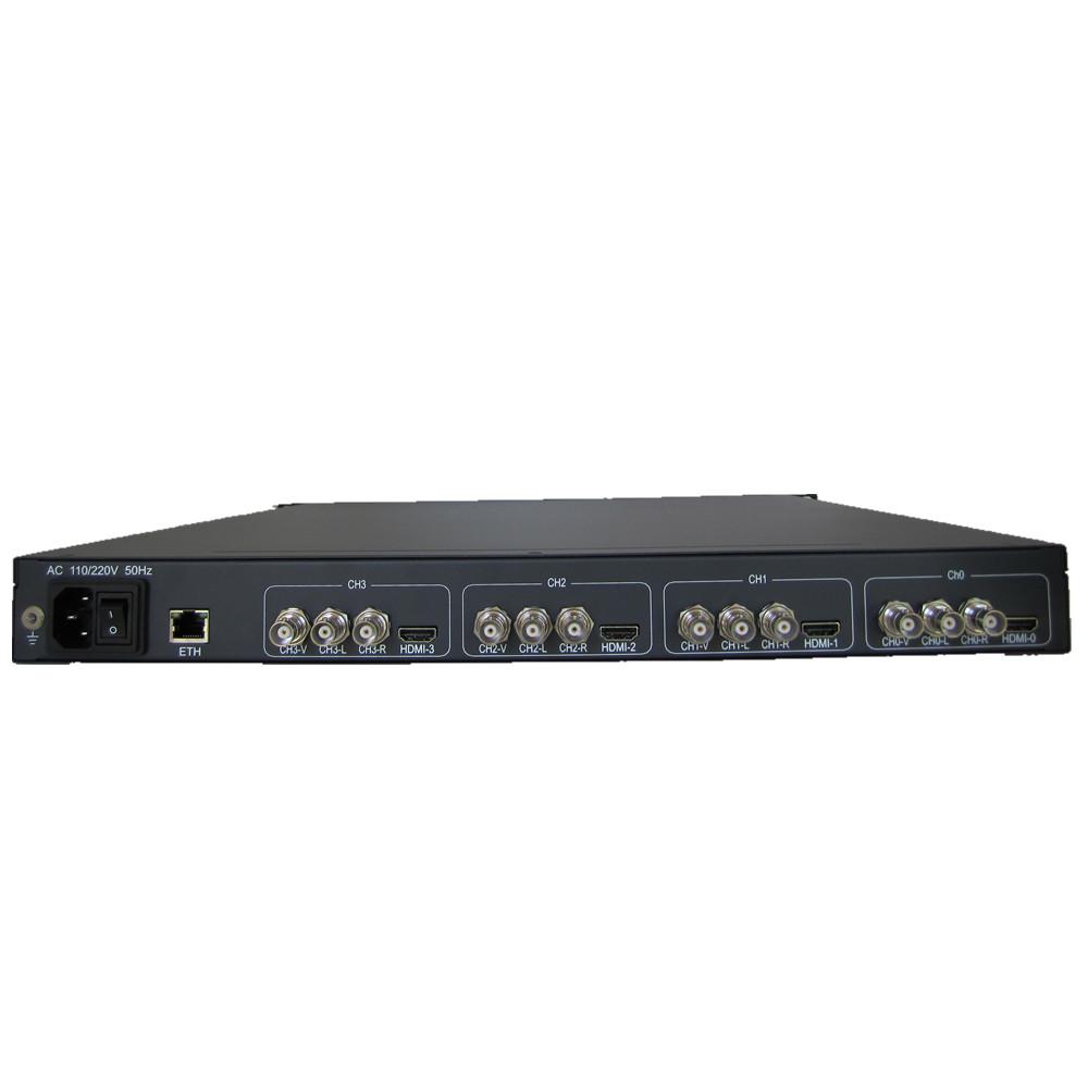 HP902D 4 in 1 Flash HD IP Encoder support HTTP/RTMP/RTP/RTSP/UDP