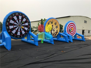 RB9126(dia 3.5m) Inflatable Various features football darts 3 in 1 hot sale