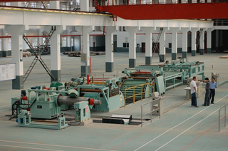 Factory powerful high speed steel sheet cut to length line