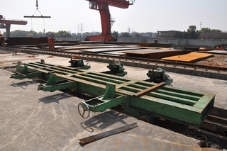 Hydraulic simple metal strip cut to length line equipment