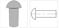 ASME/ANSI B 18.1.1-1983(R2006) Button head rivets