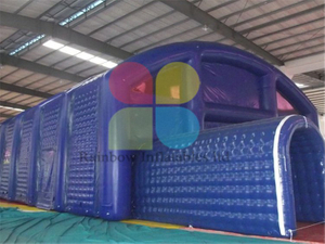 RB41062(30x5m) Inflatable customized large cube tent/inflatable cubes tent